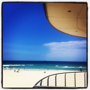 Bondi Beach- taken from the Lifeguards station