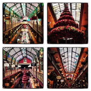 Sydney's Strand Arcade- all dressed up