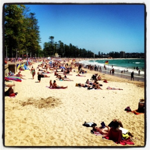 Manly Surf Beach, NYE 2012