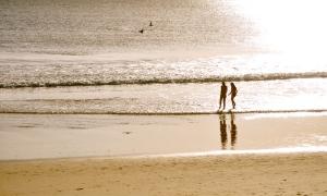 Mooloolaba Beach at sunrise