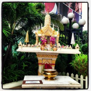 the Spirit House at the Novotel, Siam Square