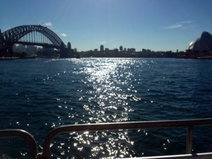 from the ferry...