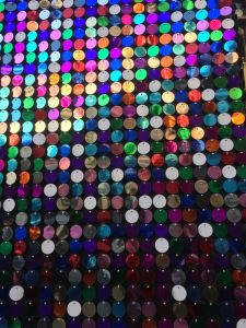 The Harvey Nicks windows have a disco theme this Christmas