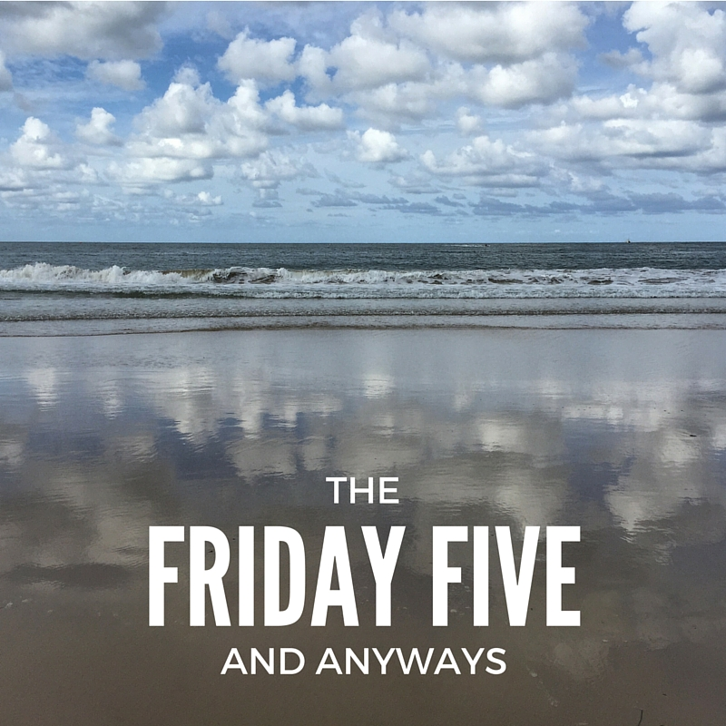 FRIDAY FIVE-2