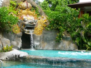 Barong Lagoon Pool- taken December 2011