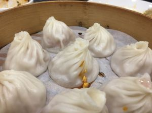 Apologies for the chilli oil on the xiao long bao...Mr T did it...