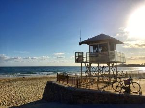 Early morning at Mooloolaba Beach
