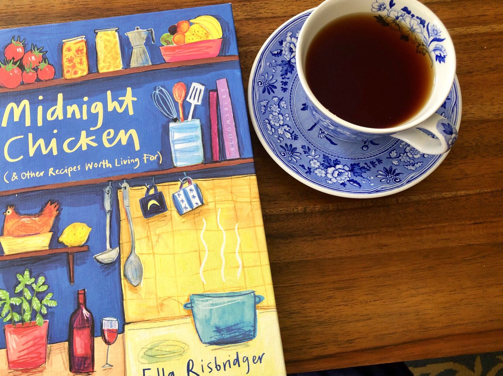 Midnight Chicken (& Other Recipes Worth Living For) by Ella Risbridger